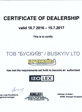 20160718_izolex_dealersertificat